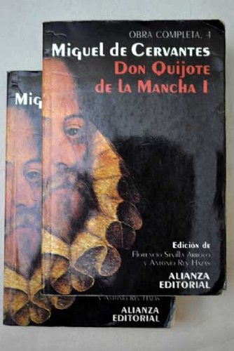 9788420643540: Don Quijote de La Mancha - 2 Tomos (Spanish Edition)