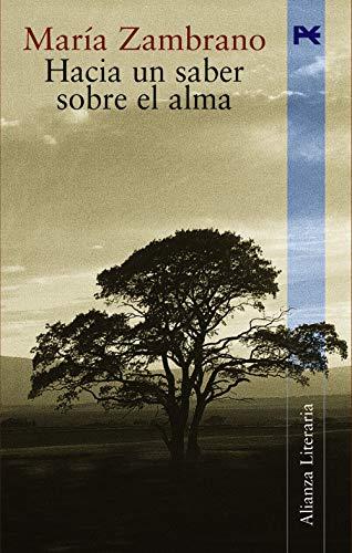 9788420644240: Hacia un saber sobre el alma (Alianza Literaria) (Spanish Edition)