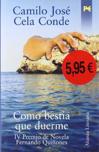 9788420645346: Como bestia que duerme / As the Beast Sleeps (Spanish Edition)