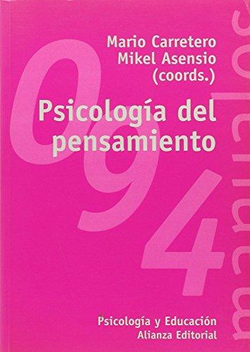 9788420647333: Psicologia del pensamiento