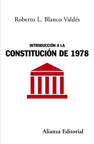 9788420648613: Introducción a la Constitución de 1978 (Alianza Ensayo)