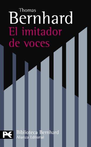 9788420649757: El imitador de voces / The Imitator of Voices (Spanish Edition)