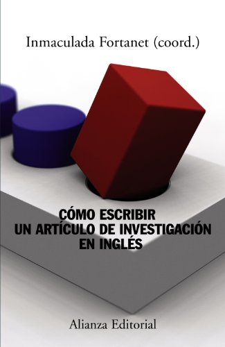9788420651231: Como escribir un articulo de investigacion en ingles / How to Write a Research Paper in English (Spanish Edition)
