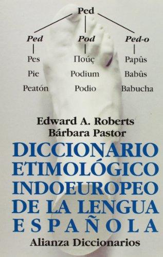 9788420652528: Diccionario etimológico indoeuropeo de la lengua española (Alianza Diccionarios (Ad))