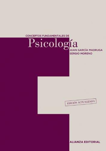 CONCEPTOS FUNDAMENTALES DE PSICOLOGÍA.: GARCÍA MADRUGA, JUAN