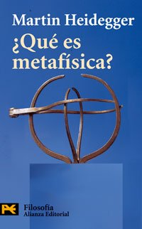 9788420655376: Que Es Metafisica? / What is metaphysics?: Seguido De E (El Libro De Bolsillo) (Spanish Edition)