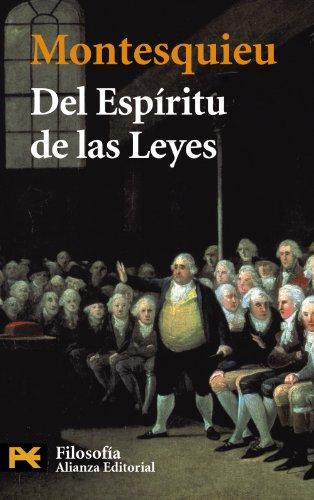 Del espiritu de las leyes / The: Montesquieu