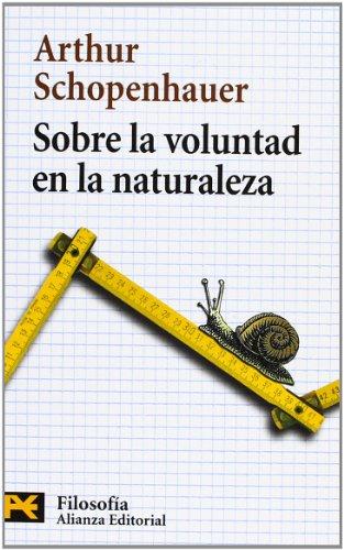 9788420655710: Sobre la voluntad en la naturaleza (El Libro De Bolsillo - Filosofía)
