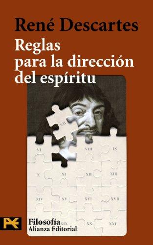 9788420655741: Reglas para la dirección del espíritu (El Libro De Bolsillo - Filosofía)