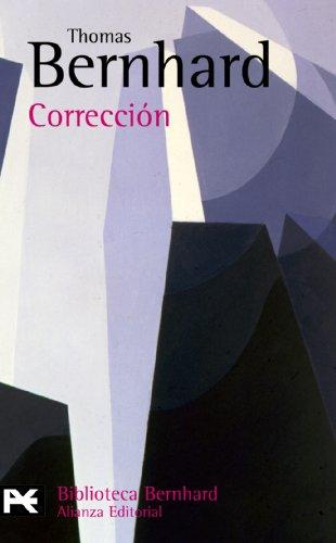 9788420655925: Correccion (Biblioteca Bernhard) (Spanish Edition)