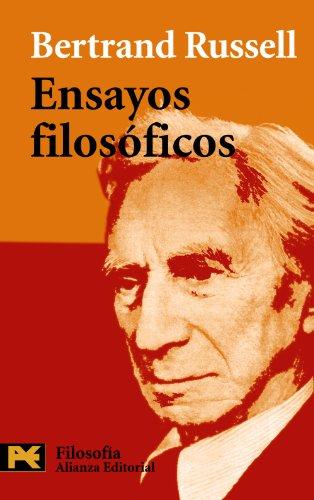 9788420656229: Ensayos filosoficos / Philosophical Essays (Humanidades/ Humanities) (Spanish Edition)