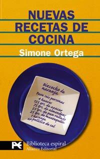9788420656366: Nuevas recetas de cocina (El Libro De Bolsillo - Biblioteca Espiral)