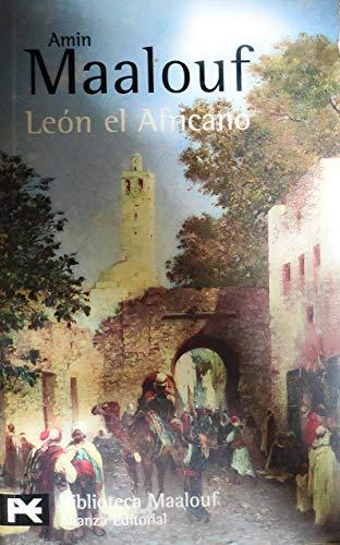 9788420656762: León el Africano (El Libro De Bolsillo - Bibliotecas De Autor - Biblioteca Maalouf)