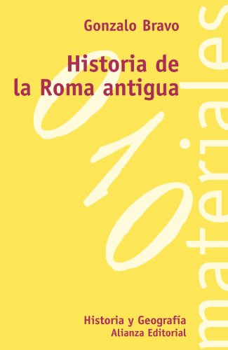 9788420657325: Historia de la Roma antigua / History of Ancient Rome (El Libro Universitario. Materiales) (Spanish Edition)