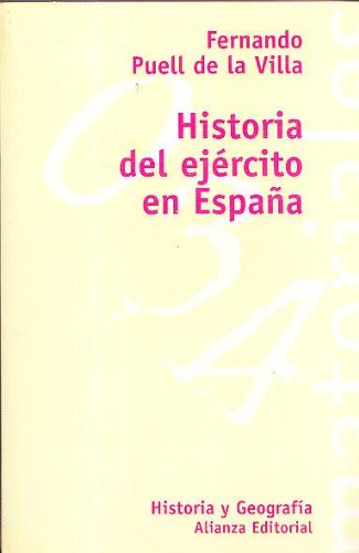 9788420657608: Hª del ejercito en España (El libro universitario)