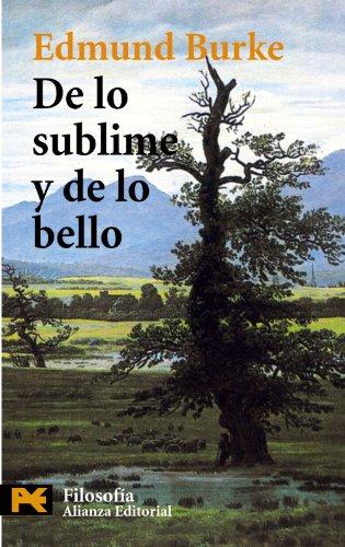 De Lo Sublime Y De Lo Bello: Burke, Edmund