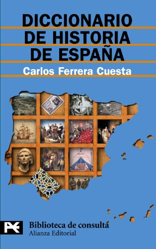 9788420658988: Diccionario De Historia De Espana/ History of Spain Dictionary (Biblioteca Tematica / Thematic Library) (Spanish Edition)