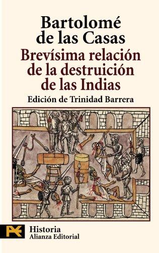 9788420659176: Brevísima relación de la destruición de las Indias (El Libro De Bolsillo - Historia)