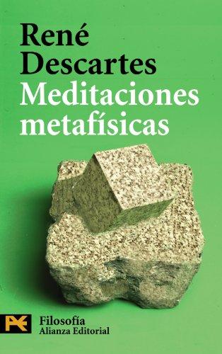 9788420659862: Meditaciones metafísicas (El Libro De Bolsillo - Filosofía)