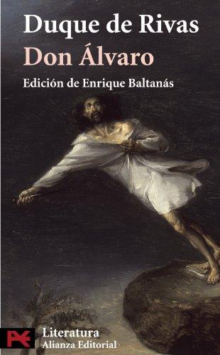 9788420660196: Don Álvaro o la fuerza del sino (El Libro De Bolsillo - Literatura)