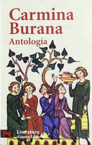 CARMINA BURANA: ANTOLOGÍA: Juan Antonio Estévez Sola (ed.)