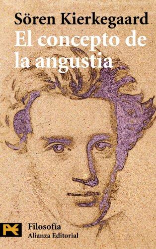 9788420660974: El concepto de la angustia (El Libro De Bolsillo - Filosofía)