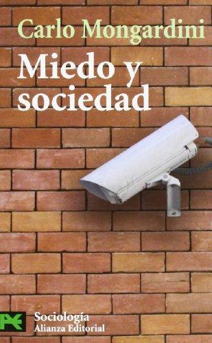 Miedo y sociedad (El libro de bolsillo: Carlo Mongardini
