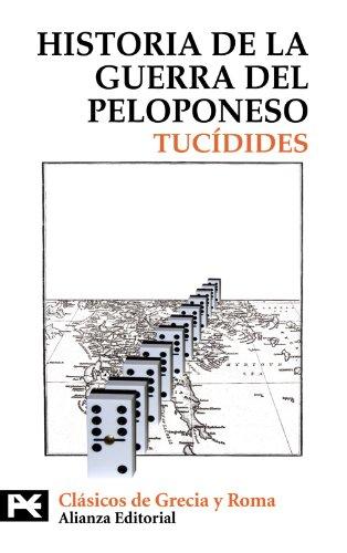 9788420662336: Historia de la guerra del Peloponeso (El Libro De Bolsillo - Bibliotecas Temáticas - Biblioteca De Clásicos De Grecia Y Roma)