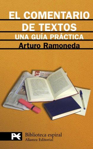 9788420662831: El comentario de textos: Una guía práctica (El Libro De Bolsillo - Biblioteca Espiral)