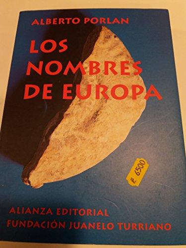 9788420664811: Los nombres de Europa (Libros Singulares)