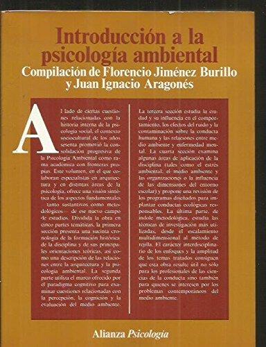 INTRODUCCION A LA PSICOLOGIA AMBIENTAL: FLORENCIO JIMENEZ BURILLO