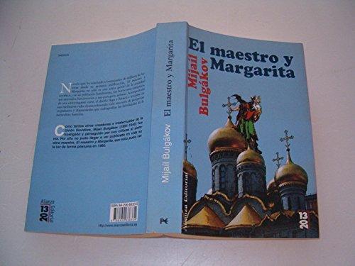 9788420666334: El maestro y Margarita (COLECCION 13/20) (Spanish Edition)