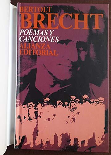 9788420666532: Poemas y canciones (Alianza Bolsillo 1966-2006)