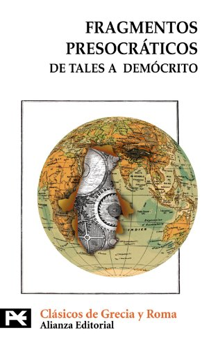 9788420666976: Fragmentos presocraticos / Presocratic Fragments: De tales a democrito (Spanish Edition)