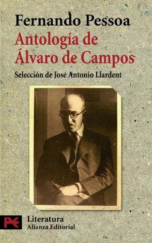 9788420668383: Antología de Álvaro Campos (El Libro De Bolsillo - Literatura)