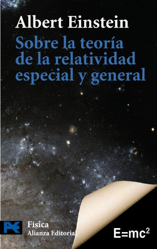 9788420668413: Sobre la teoria de la relatividad especial y general (El Libro De Bolsillo-Areas De Conocimiento-Ciencia Y Tecnica-Fisica) (Spanish Edition)