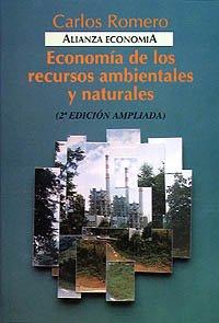 9788420668505: Economía de los recursos ambientales y naturales (Alianza Economía (Ae))