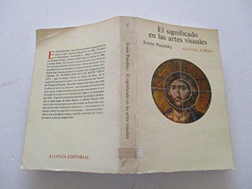 9788420670041: El Significado En Las Artes Visuales (Spanish Edition)