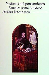 9788420670461: Visiones del pensamiento: Estudios sobre El Greco (Alianza Forma (Af))