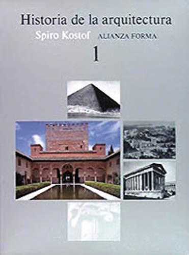 9788420670768: Historia de la arquitectura, 1 (Spanish Edition)