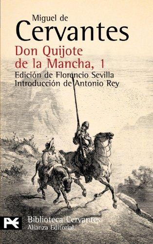 9788420672052: Don Quijote de la Mancha, 1 (El Libro De Bolsillo - Bibliotecas De Autor - Biblioteca Cervantes)