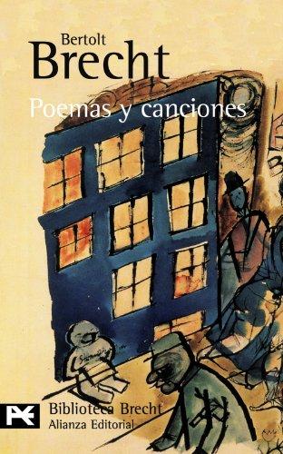9788420672243: 0602: Poemas y canciones (El Libro De Bolsillo - Bibliotecas De Autor - Biblioteca Brecht)