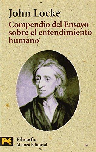 9788420672915: Compendio del Ensayo sobre el entendimiento humano (El Libro De Bolsillo - Filosofía)