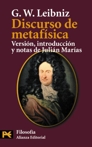 9788420672946: Discurso de metafísica (El Libro De Bolsillo - Filosofía)