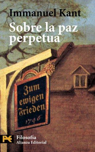 9788420673387: Sobre la paz perpetua (El Libro De Bolsillo - Filosofía)