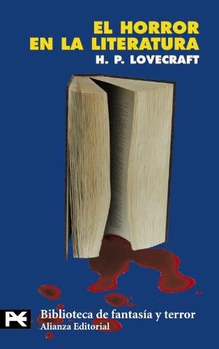 9788420673523: El horror en la literatura (El Libro De Bolsillo - Bibliotecas Temáticas - Biblioteca De Fantasía Y Terror)