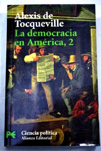 9788420673585: La democracia en América, tomo 2