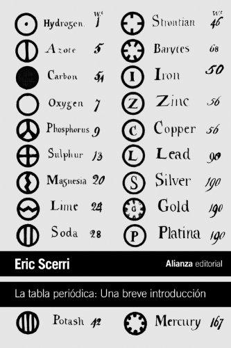 9788420674612: La tabla periódica / The Periodic Table: Una breve introducción / A Very Short Introduction (Spanish Edition)