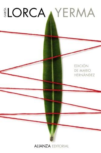 9788420675732: Yerma: Poema tr�gico en tres actos y seis cuadros / Tragic poem in three acts and six scenes