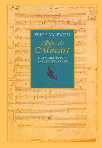9788420677835: Guia de mozart - discografia por Arturo reverter - (Libros Singulares)